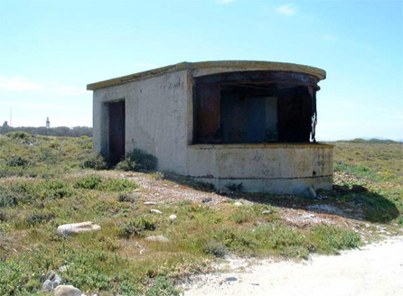 Robben Island Searchlight