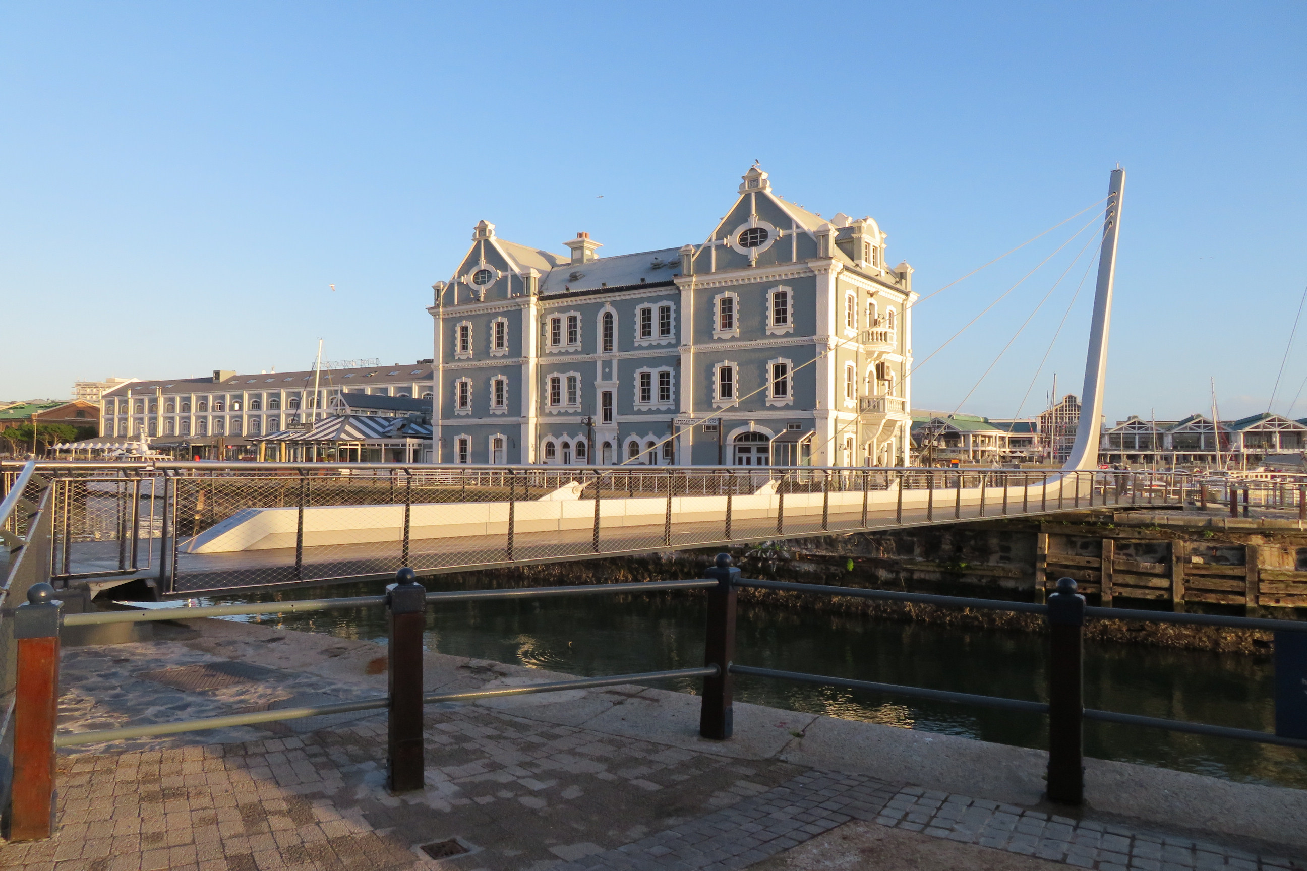 V&A Waterfront Swing Bridge